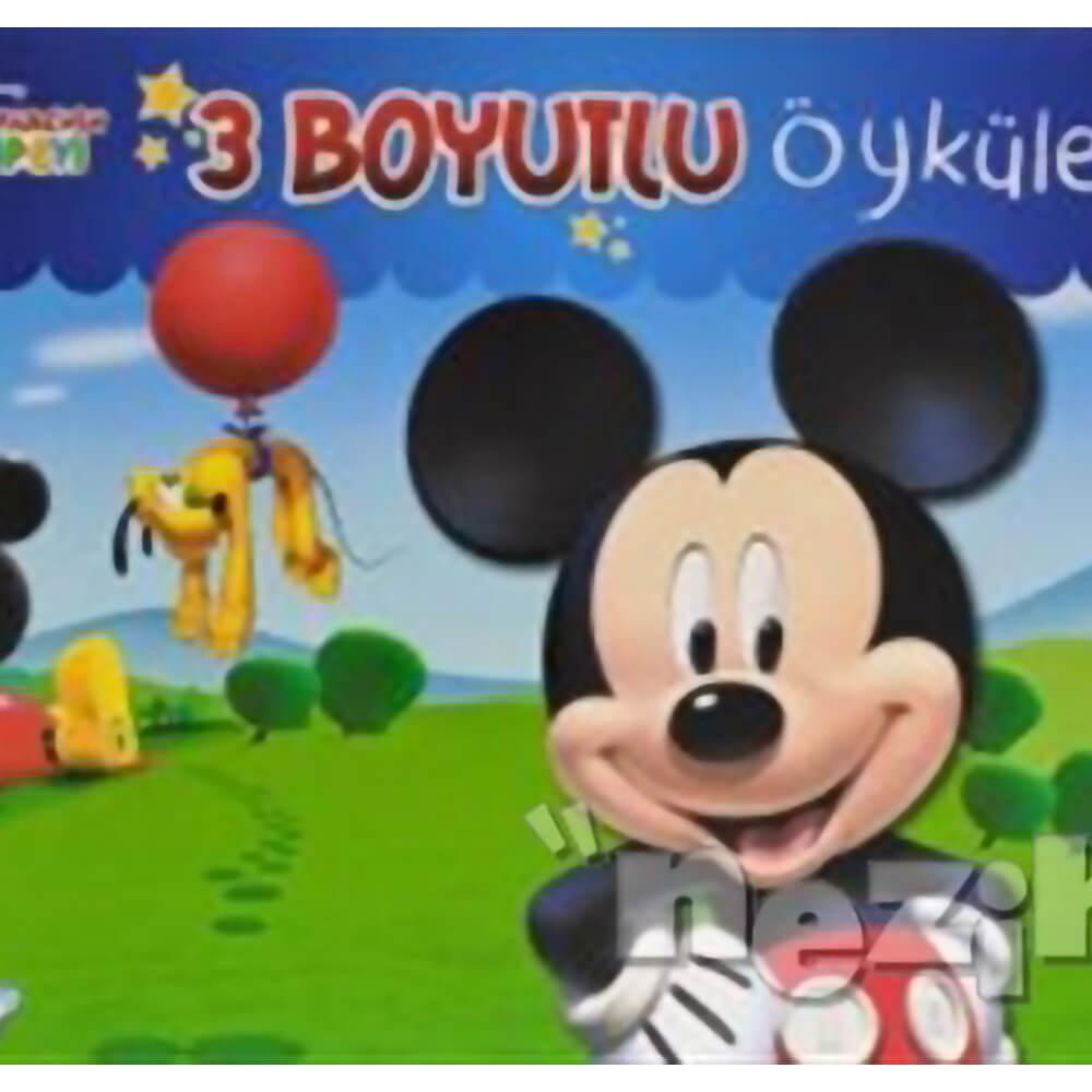 Disney Mickey Fare Nin Kulup Evi 3 Boyutlu Oykuler Nezih