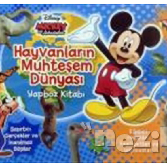 Disney Mickey ve Arkadaşları - Hayvanların Muhteşem Dünyası