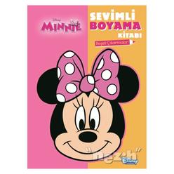 Disney Minnie - Sevimli Boyama Kitabı - Thumbnail