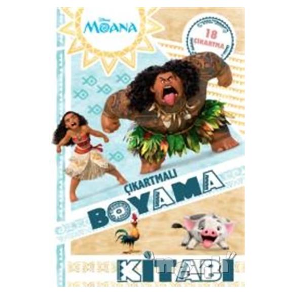 Disney Moana - Çıkartmalı Boyama Kitabı