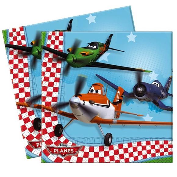 Disney Planes Baskılı Peçete 33x33 cm