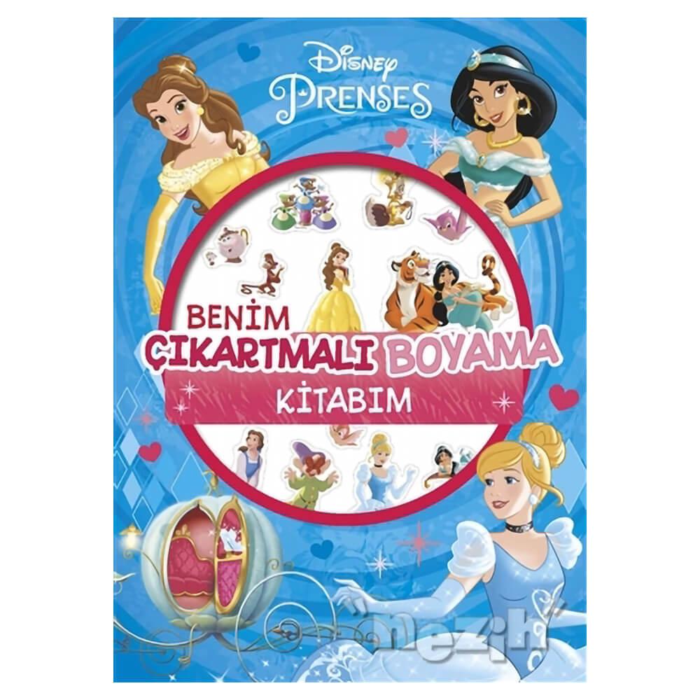 Disney Prenses Benim Cikartmali Boyama Kitabim Nezih