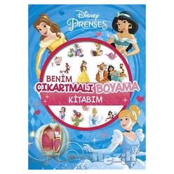 Disney Prenses - Benim Çıkartmalı Boyama Kitabım - Thumbnail