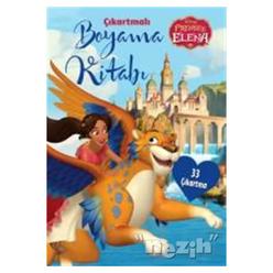 Disney Prenses Elena - Çıkartmalı Boyama Kitabı - Thumbnail