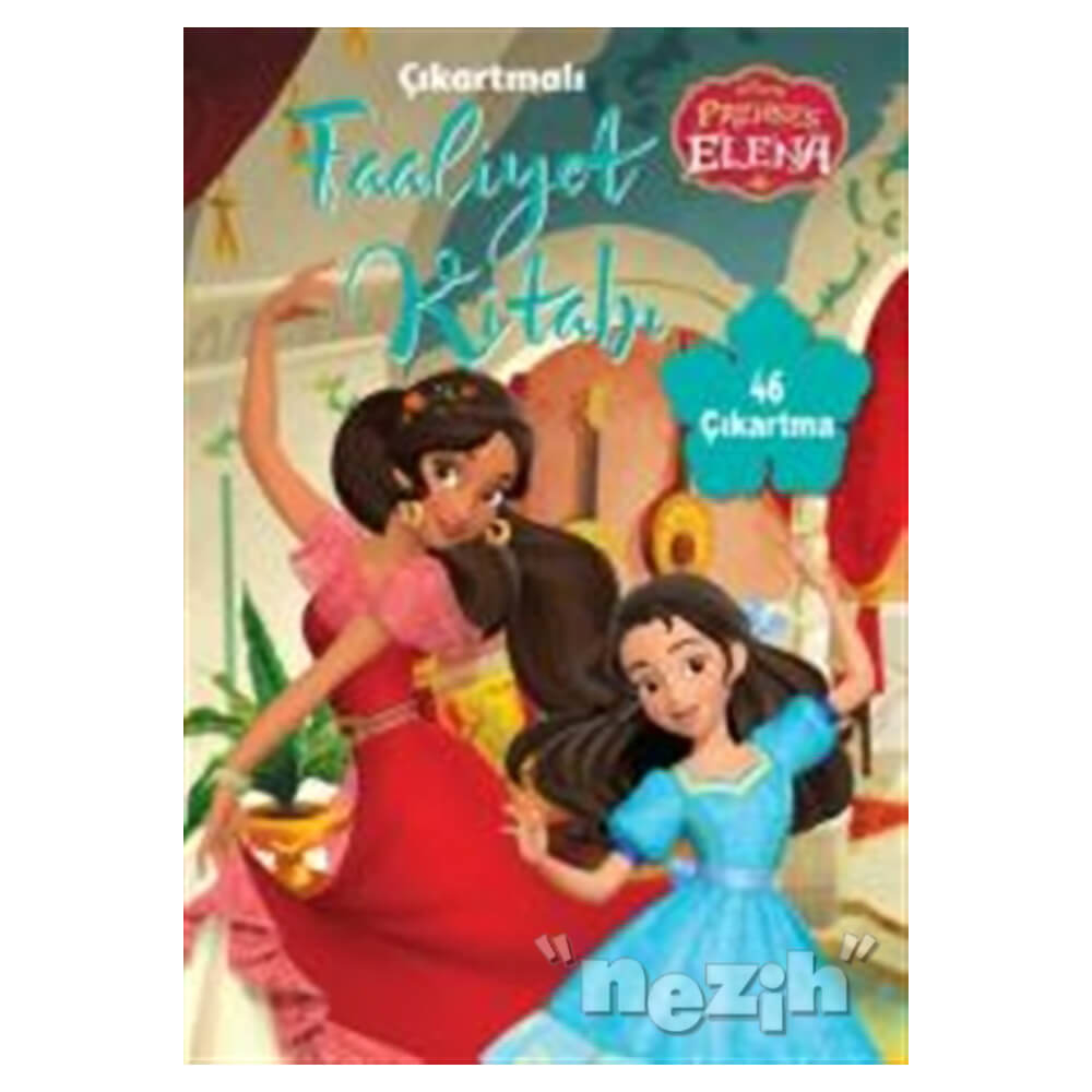 Disney Prenses Elena Cikartmali Faaliyet Kitabi Nezih