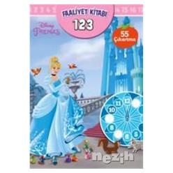 Disney Prenses - Faaliyet Kitabı 1 2 3 - Thumbnail