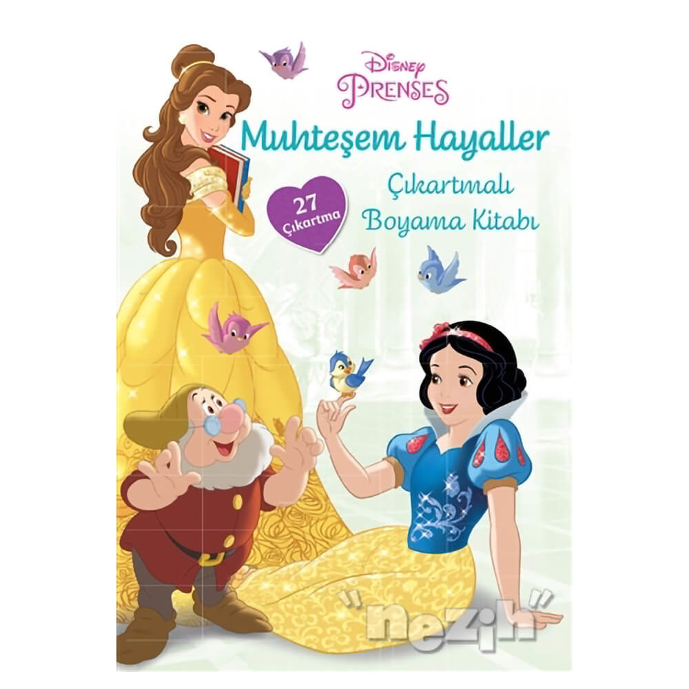 Disney Prenses Muhtesem Hayaller Cikartmali Boyama Kitabi Nezih