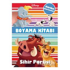 Disney Sihir Partisi Çıkartmalı Boyama Kitabı - Thumbnail