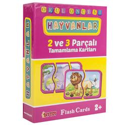Diytoy Eğitici Flash Card Book Hayvanlar - Thumbnail