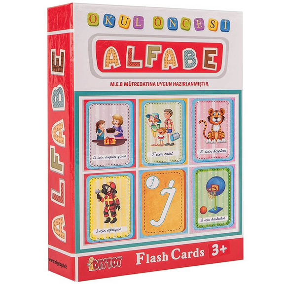 Diytoy Flash Card Alfabe FCA1178