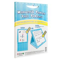 Diytoy Manyetik Tablet Yazı Tahtası Mavi - Thumbnail
