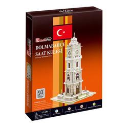 Dolmabahçe Saat Kulesi 93 Parça 3D Puzzle C171H - Thumbnail