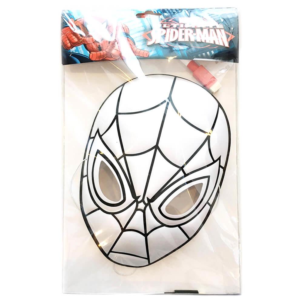 Dolphin Spiderman Boyama Seti Maske Sm 16002 Nezih