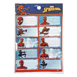Dolphin Spiderman Okul Etiketi Sm-Tga-73 - Thumbnail