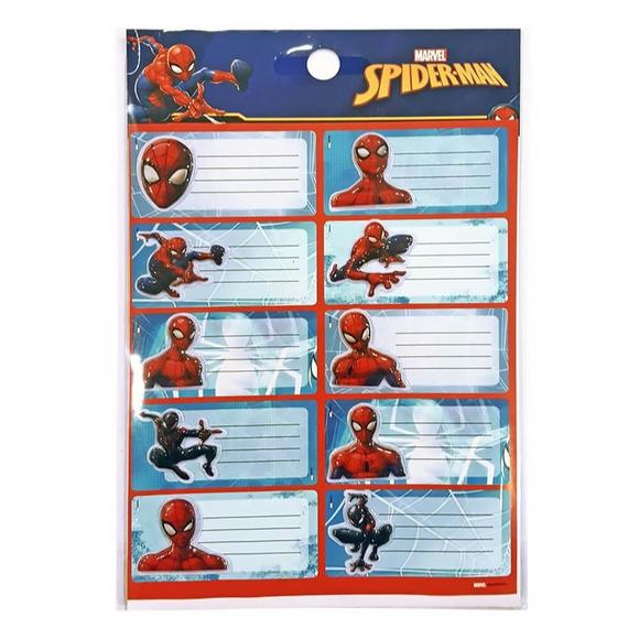 Dolphin Spiderman Okul Etiketi Sm-Tga-73
