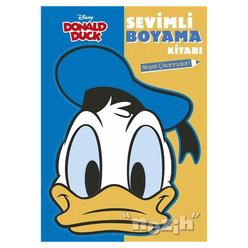Donald Duck - Sevimli Boyama Kitabı - Thumbnail
