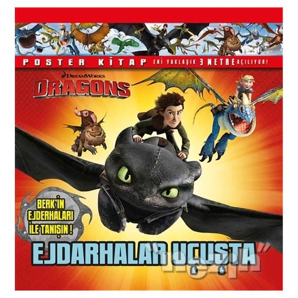 DreamWorks Dragons - Ejderhalar Uçuşta (Poster Kitap)