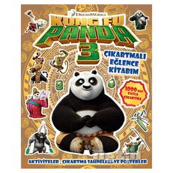 DreamWorks - Kung Fu Panda 3 (Çıkartmalı Eğlence Kitabım) - Thumbnail