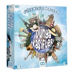 Dünya Kaşifleri Kutu Oyunu CA 5104 - Thumbnail