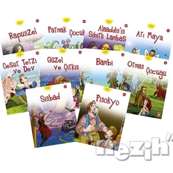 Dünya Masalları- 2 Set (10 Kitap)