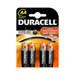 Duracell Alkaline Kalem Pil AA 4'lü - Thumbnail