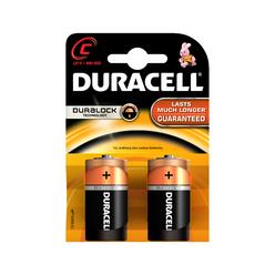 Duracell Alkaline Orta Boy Pil C 2'li - Thumbnail