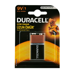 Duracell Alkaline Pil 9 Volt - Thumbnail