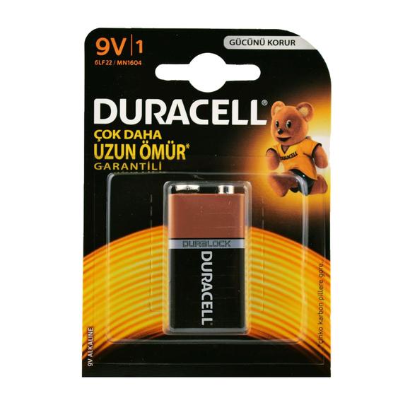 Duracell Alkaline Pil 9 Volt