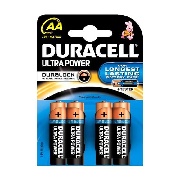 Duracell Alkaline Turbo Kalem Pil AA 4'lü