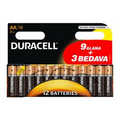 Duracell Kalem Pil AA (9+3) 12'li Kartela - Thumbnail
