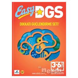 Easy Dikkati Güçlendirme Seti 3/6 Yaş A - Thumbnail