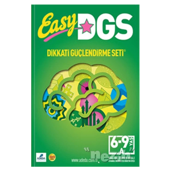 Easy Dikkati Güçlendirme Seti 6-9 Yaş A