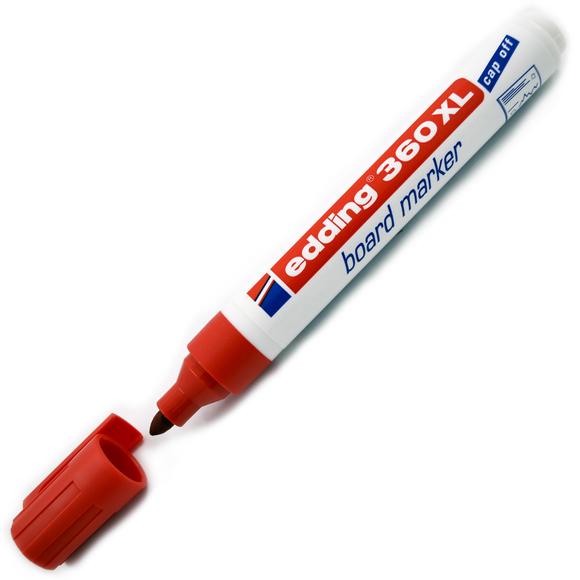 Edding 360XL Board Marker Yazı Tahtası Kalemi Kırmızı