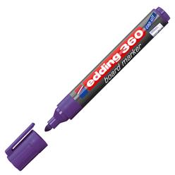 Edding Beyaz Tahta Kalemi Mor E-360 - Thumbnail
