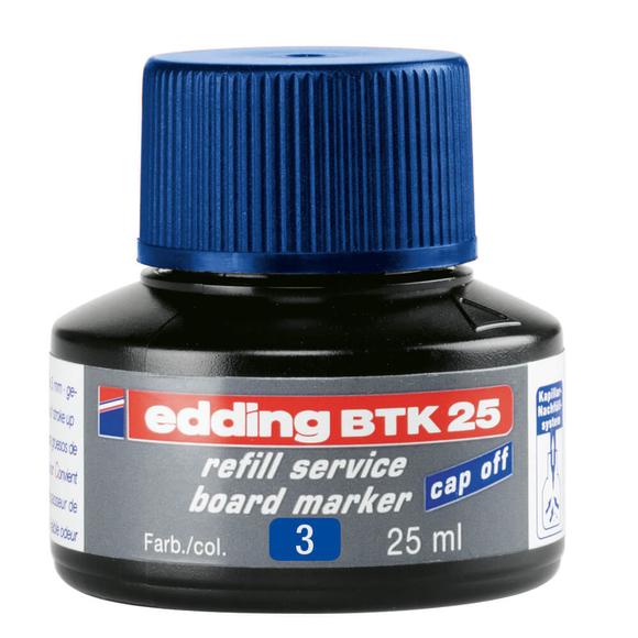 Edding Board Marker Mürekkep 25 ml Mavi E-BTK25