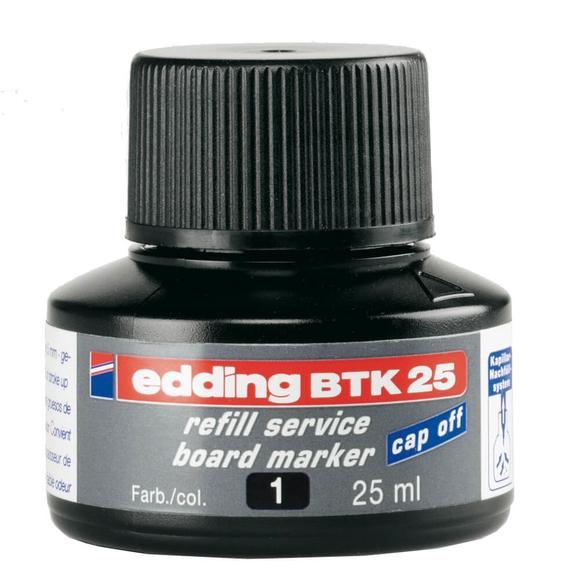 Edding Board Marker Mürekkep 25 ml Siyah E-BTK25