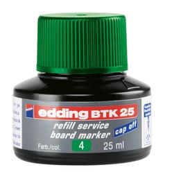 Edding Board Marker Mürekkep 25 ml Yeşil E-BTK25 - Thumbnail