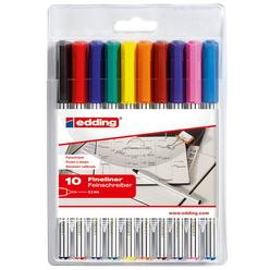 Edding Fineliner Karışık Renk 10'lu - Thumbnail