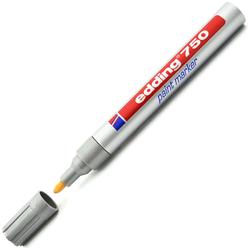 Edding Paint Markör Gümüş E-750 - Thumbnail