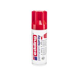 Edding Permanent Sprey Boya Parlak Kırmızı 5200952 - Thumbnail