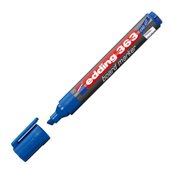 Edding Tahta Kalemi Kesik Uçlu Mavi E-363