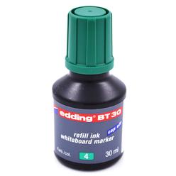 Edding Whiteboard Marker Mürekkep 30 ml Yeşil E-BT30 - Thumbnail