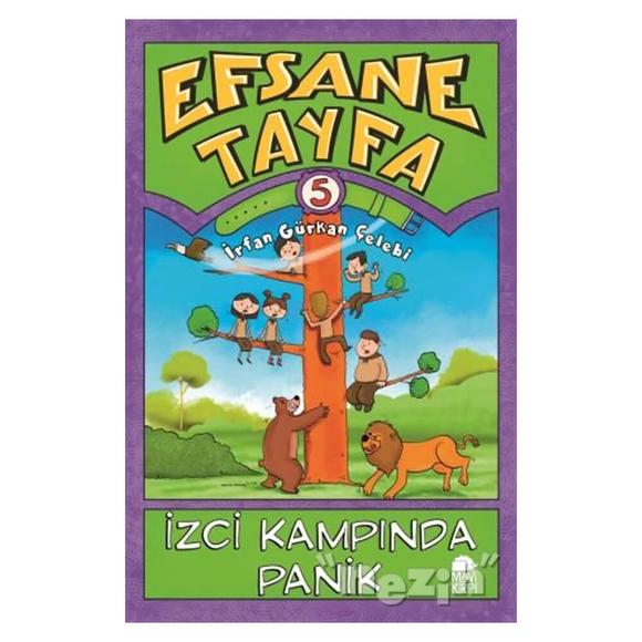 Efsane Tayfa 5 - İzci Kampında Panik