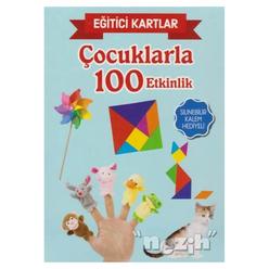 Eğitici Kartlar - Çocuklarla 100 Etkinlik - Thumbnail