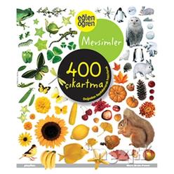 Eğlen Öğen Mevsimler 400 Çıkartma - Thumbnail