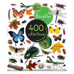 Eğlen Öğren Böcekler 400 Çıkartma - Thumbnail