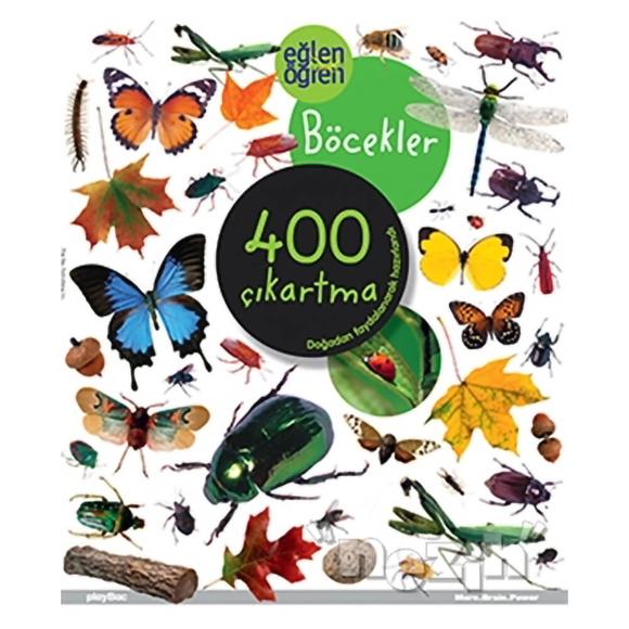 Eğlen Öğren Böcekler 400 Çıkartma