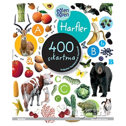 Eğlen Öğren Harfler 400 Çıkartma - Thumbnail