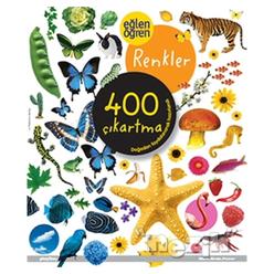Eğlen Öğren Renkler 400 Çıkartma - Thumbnail