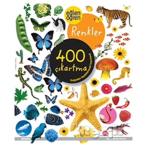 Eğlen Öğren Renkler 400 Çıkartma